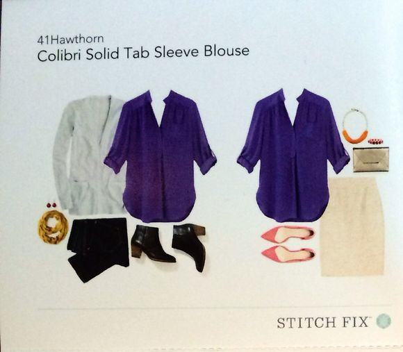 Stitch Fix #3: Lots of Blouses